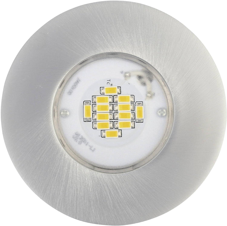 Lámpara LED RVB aluminium de jedi Supernatural Alu Brushed 345 lm, idual: Amazon.es: Iluminación
