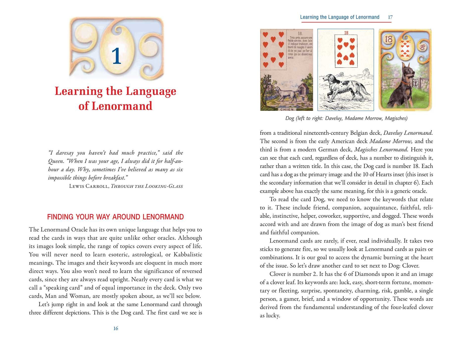Theplete Lenormand Oracle Handbook: Reading The Language And Symbols Of  The Cards: Caitl�n Matthews: 9781620553251: Amazon: Books