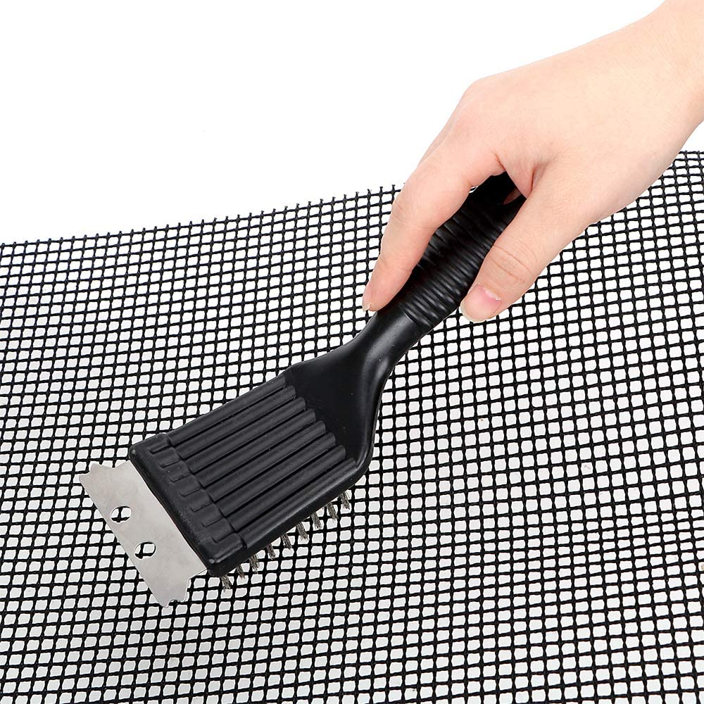 NOPNOG Barbecue Grill Brush BBQ Wire Bristles Brushes Cleaning Tool