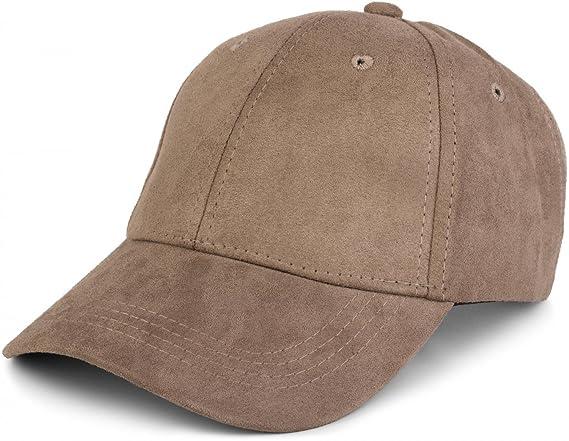 styleBREAKER berretto a 6 pannelli in pelle scamosciata 1d60869c1acb