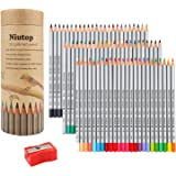 Niutop 72-color Premier Soft Core Art Colored Drawing Pencils of Marco for Artist Sketch/ Adult Secret Garden Coloring Book/ Kids Artist Writing/ Manga Artwork
