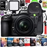 Nikon Z5 Mirrorless Full Frame Camera Body with 24-50mm f/4-6.3 Lens Kit FX-Format 4K UHD Bundle with Deco Gear…