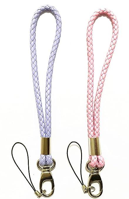 Maria Wang - Cordón premium trenzado hecho a mano de piel ...