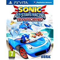 Sonic & All-Stars Racing Transformed Sony Playstation PS Vita Game