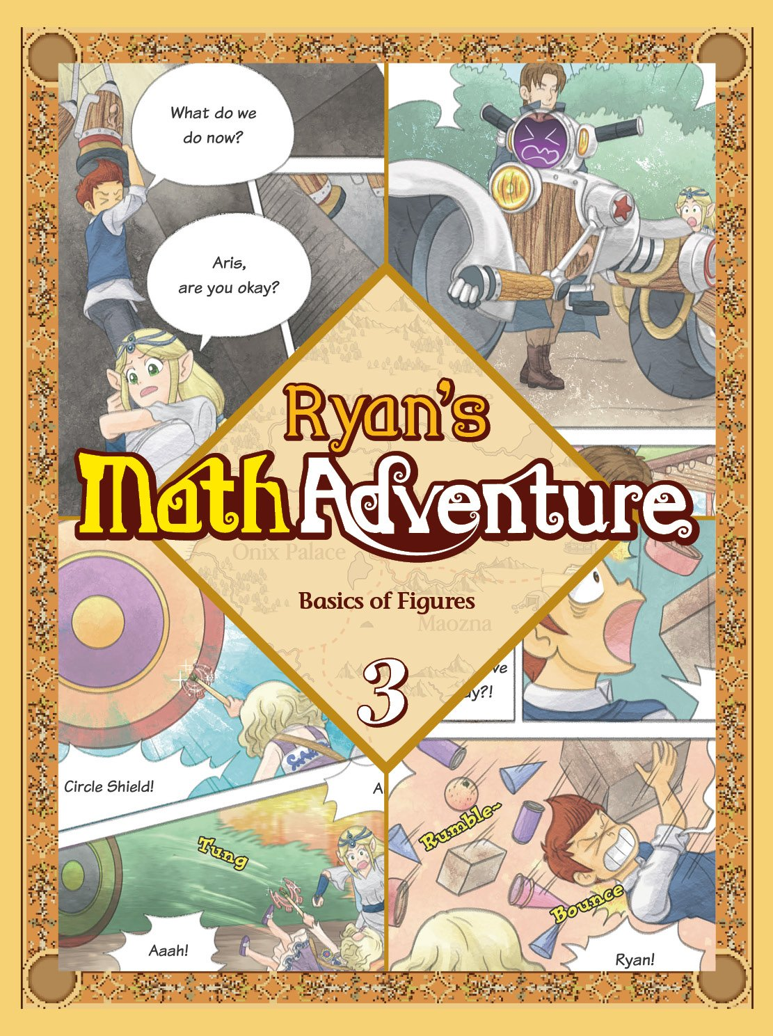 Ryan's Math Adventure 3: Basics of Figures. Enjoy & Practice Numbers and Math Foundation by Providing Your Children with Fun, Educational, and Playful Fantasy Cartoon. For Ages 6-10. Text fb2 ebook