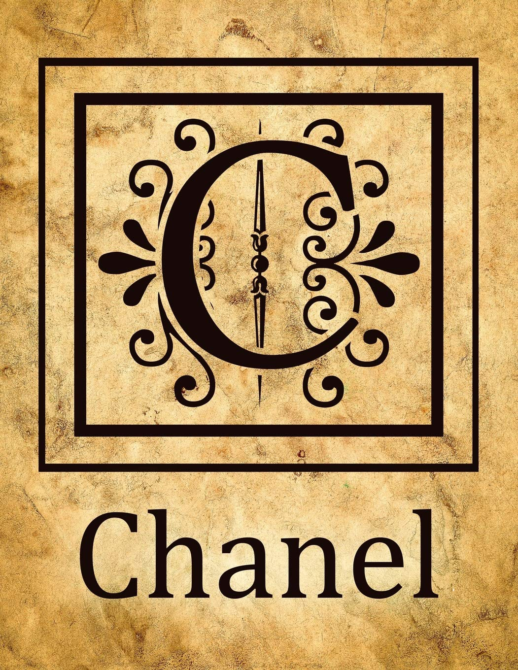 Chanel Vintage Style Personalised Notebook/Diary/Journal