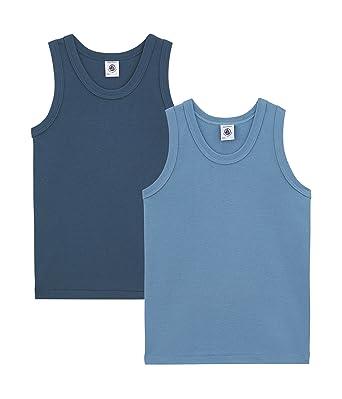 Petit Bateau Boys Vest Pack of 2