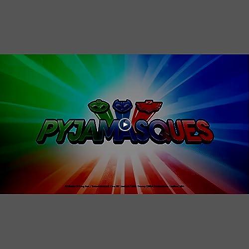 Giochi Preziosi PJM003 - Pyjamasques avec Amulette Lumineuse - Figurine Articulée - Gluglu - 7,5 Cm
