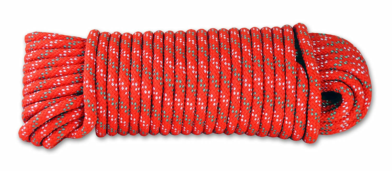 Naranja Largo 15 m 450 kg Di/ámetro 6 mm Chapuis DR62 Cuerda de polipropileno trenzada