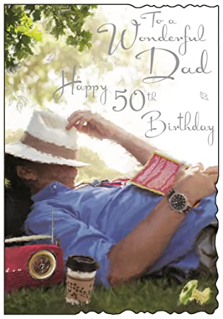 words for a 50th birthday card