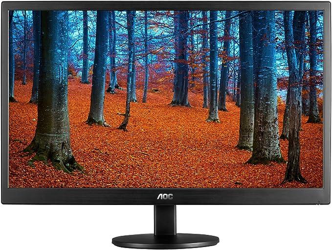 AOC E970SWN LED Display - Monitor (46,99 cm (18.5), 5 ms, 200 CD/m², Negro, Kensington, 100 x 100 mm): Amazon.es: Electrónica