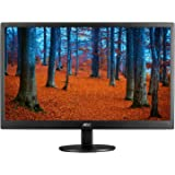 AOC e970swn 18.5-Inch LED-Lit Monitor, 1366 x 768 Resolution, 5ms, 20M:1 DCR, VGA, VESA