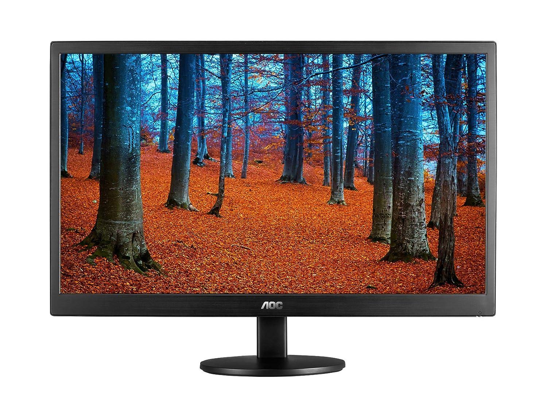 Amazon.com: AOC e970swn 18.5-Inch LED-Lit Monitor, 1366 x768 Resolution,  5ms, 20M:1 DCR, VGA, VESA: Computers & Accessories