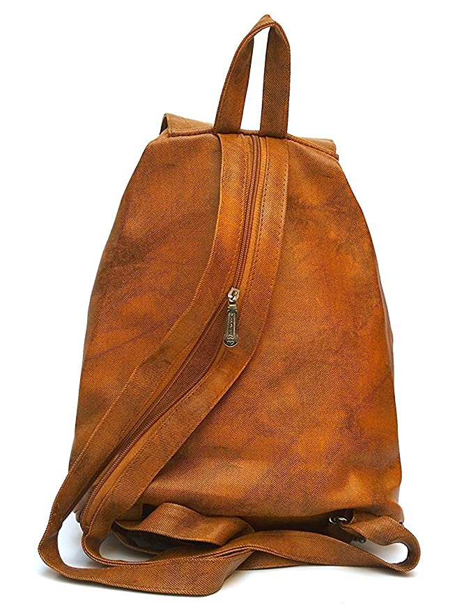 27be797e646f Buy Trendyage Girls Leather Backpacks Bags -Brown Online at Low Prices in  India - Amazon.in