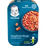 Gerber Spaghetti Rings in Meat Sauce, 6 Ounce (Pack of 6)