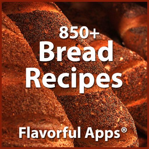 850 Flavorful Bread Recipes