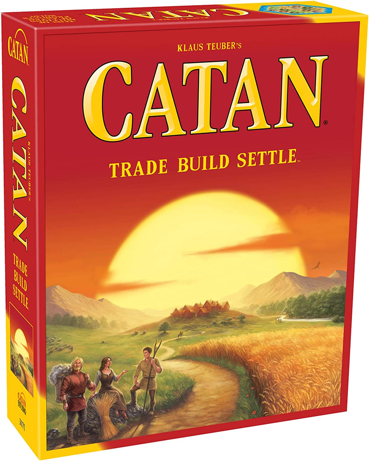 Amazon.com: Catan The Board Game: Toys & Games