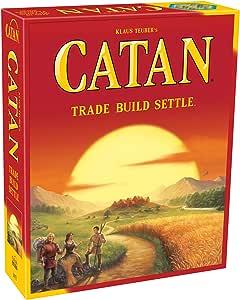 Catan Studios CN3071 The Settlers of Catan, Asmodee Board Game