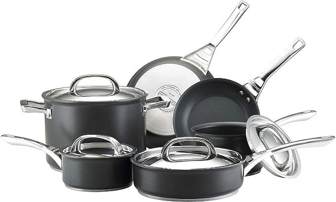 Circulon Infinite Hard Anodized Nonstick Cookware Pots and Pans Set