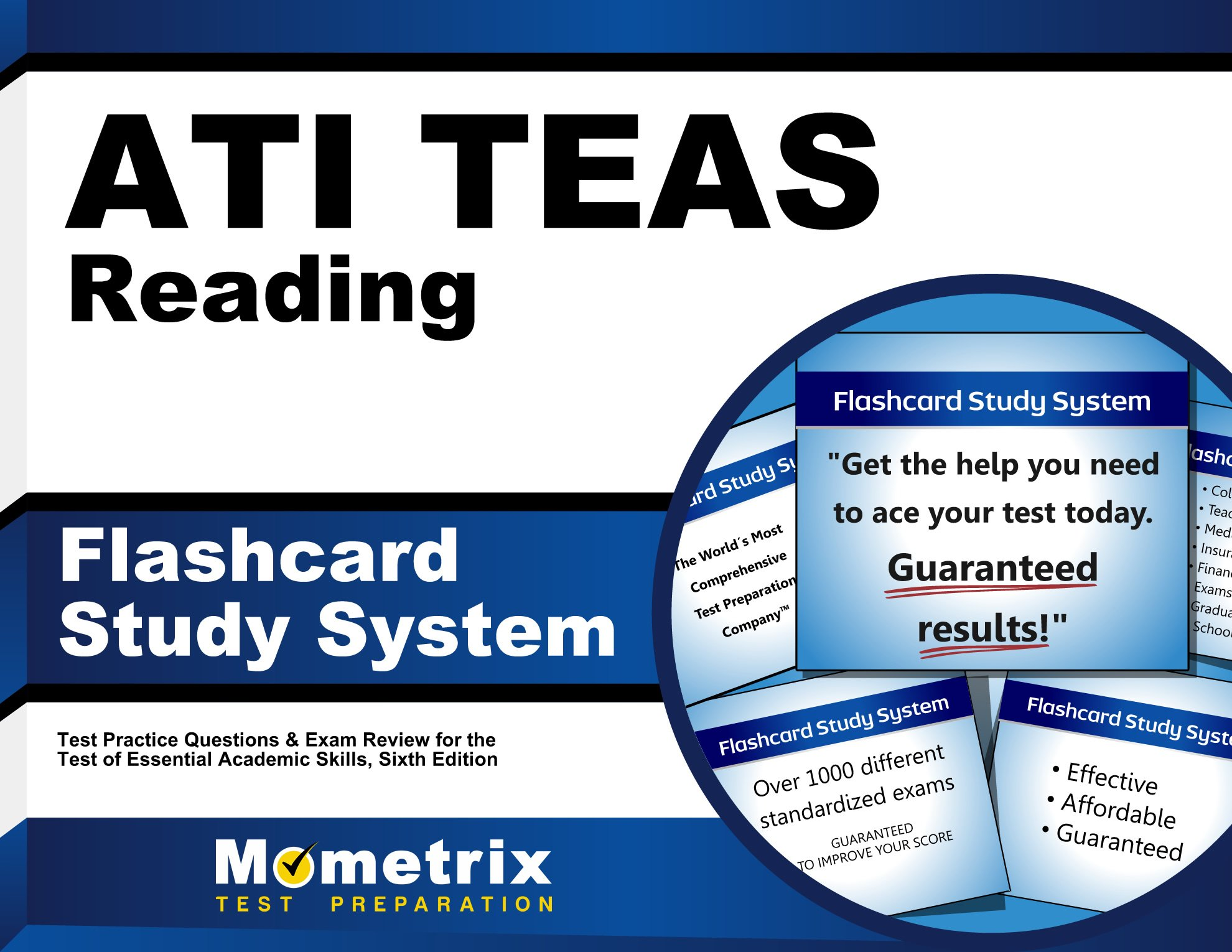 TEAS Reading Flashcard Study System