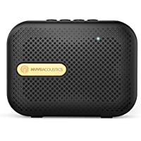 MuveAcoustics Box Portable Wireless Bluetooth Speaker with FM Radio, USB, Micro SD Card slot, Mic (Space Gold)