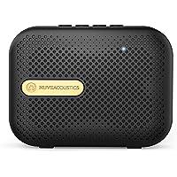 Muve Acoustics Box Portable Wireless Bluetooth Speaker with FM Radio, USB, Micro SD Card slot, Mic (Space Gold)