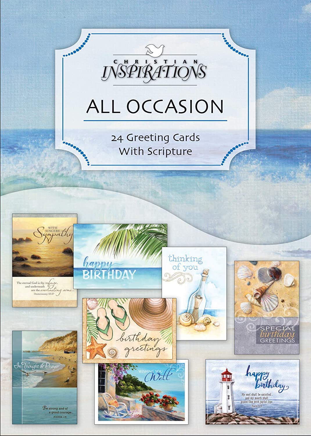 Amazon Value Pack All Occasion Kjv Scripture Greeting Cards