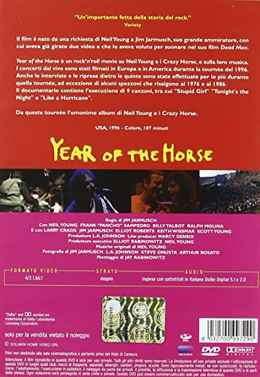 Year Of The Horse: Amazon.de: Neil Young, Jim Jarmusch: DVD & Blu-ray