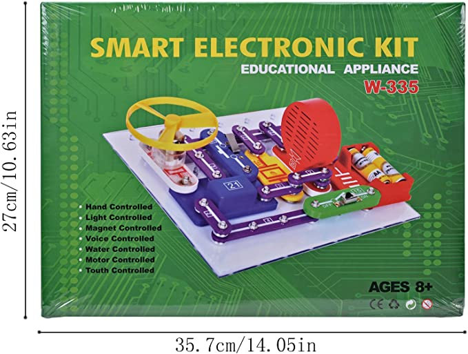 Circuits Electronics for Kids ELSKY 335 Discovery Kit  Circuits Experiments Kit