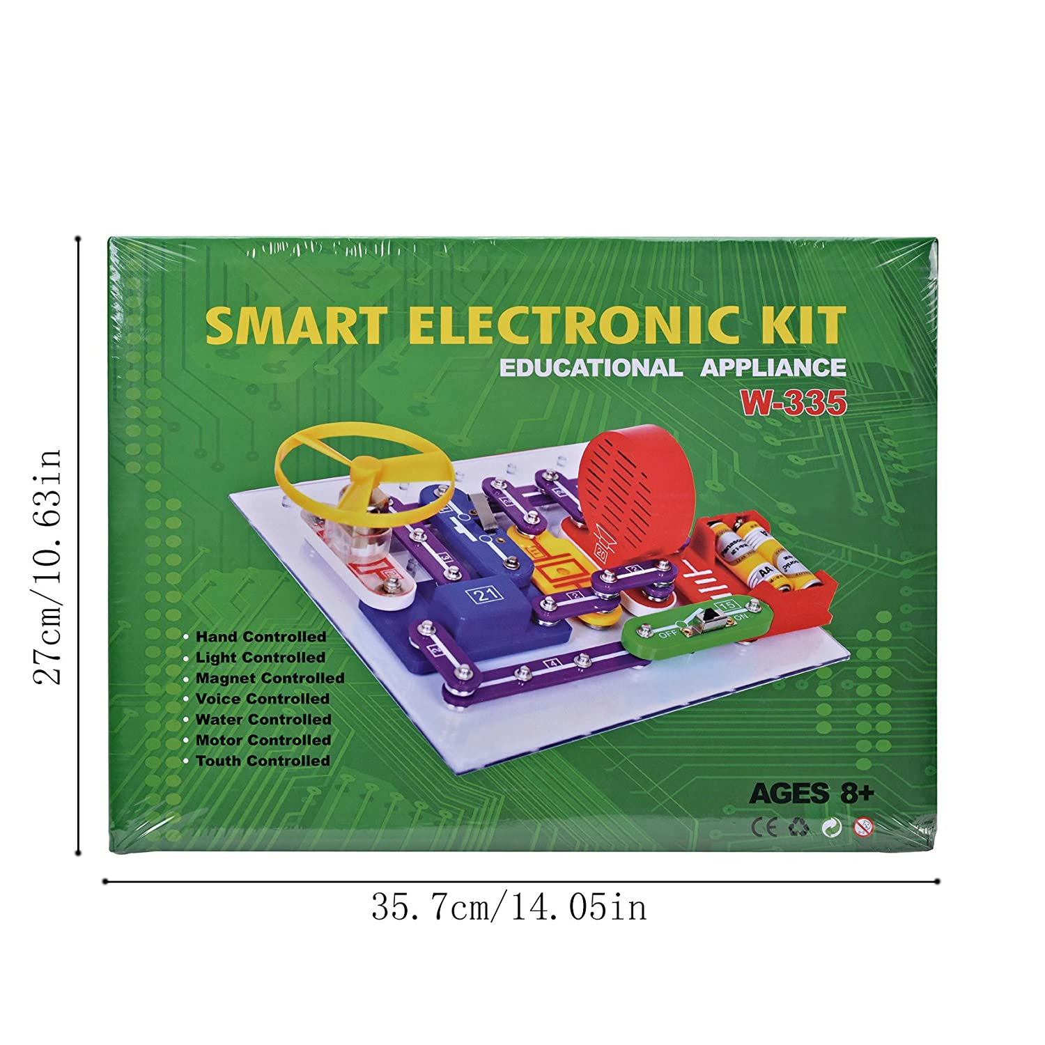 Snap Circuits Lights Electric Circuit Science Kit By Elenco Elsky 335 Electronics Discovery Smart Block Kiteducational Toygreat Diy Building Blocks For