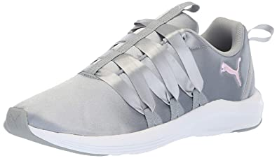 1ffbc8df7594a PUMA Women s Prowl ALT Satin Sneaker Quarry White