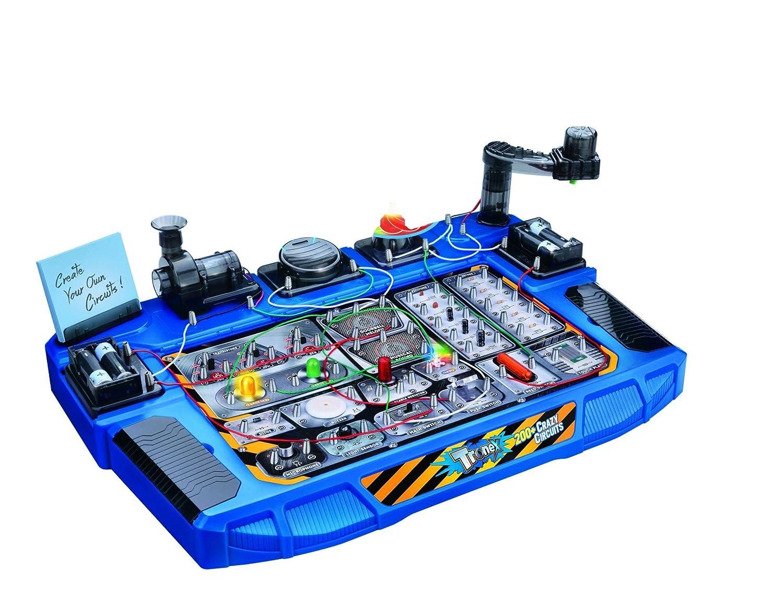 Tronex 200 Crazy Circuits 31 Parts Electronic Kit Kids Amazonco Minecraft Circuit Electronics