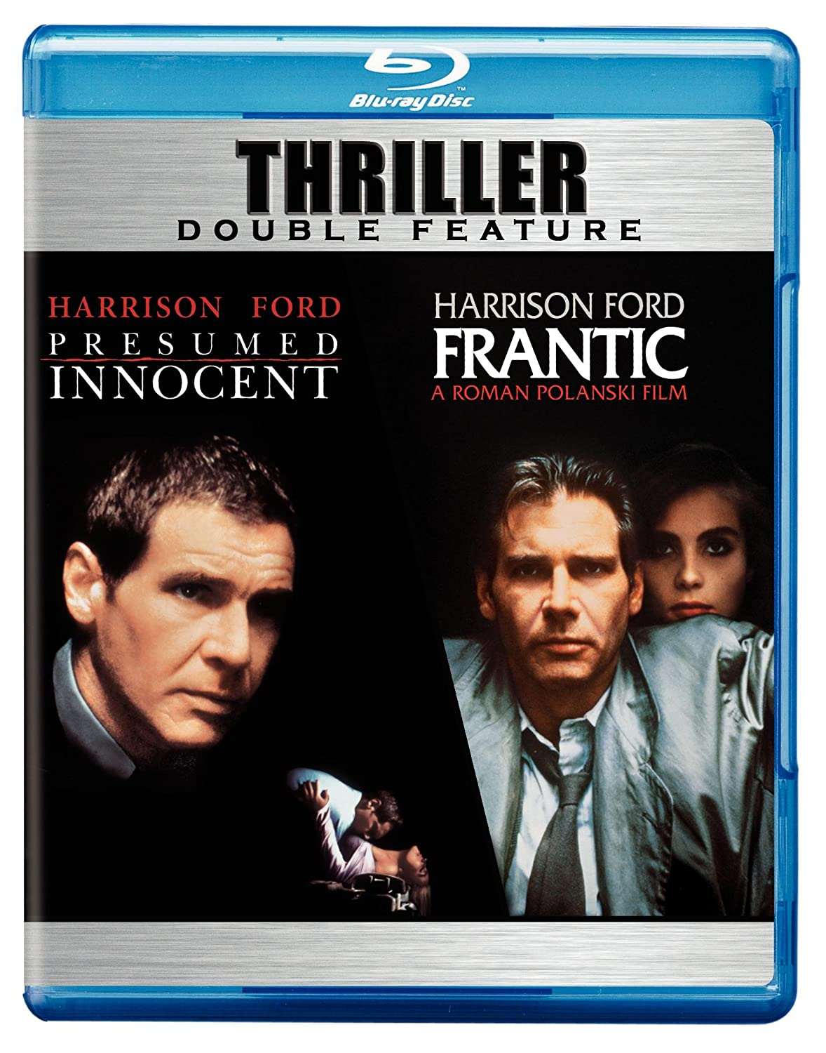 amazoncom presumed innocent frantic thriller double feature blu ray harrison ford raul julia greta scacchi betty buckley emmanuelle seigner - Presumed Innocent Movie