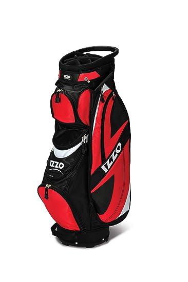 Amazon.com: Izzo Golf Breeze Deluxe Ultra Ligero Push Cart ...