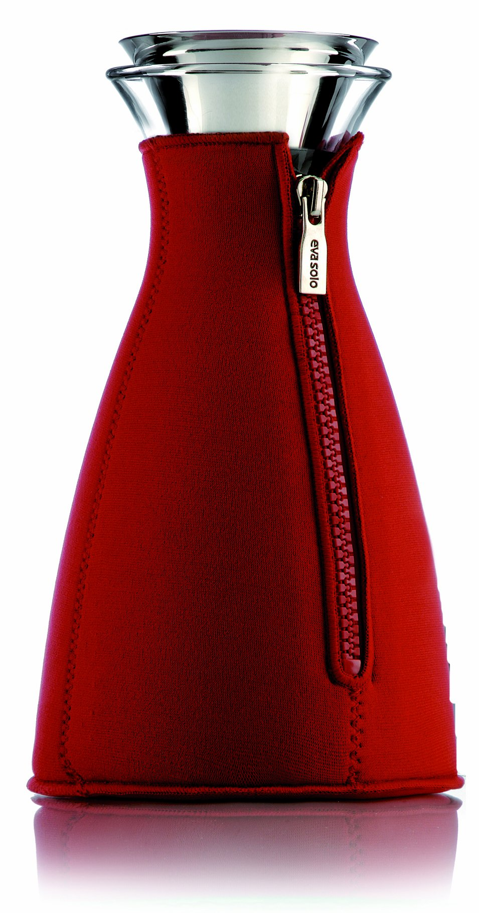 Eva Solo Cafe Solo Coffee Maker with Neoprene Cover, 1 Liter, Red