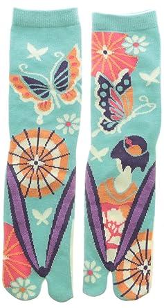 Japanese Samurai Ninja Tabi Socks; Maiko San
