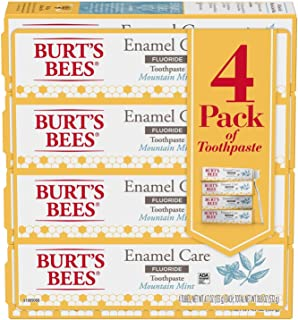 product image for Burt's Bees Enamel Strength Toothpaste 4x4.7 Oz Net Wt 18.8 Oz,, ()