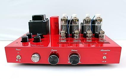 Amplificador Integrado a válvulas gabri S Amp – Modelo color Vegas R100