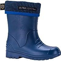 Demar Boys Dino Boots, Navy, 32/33 EU