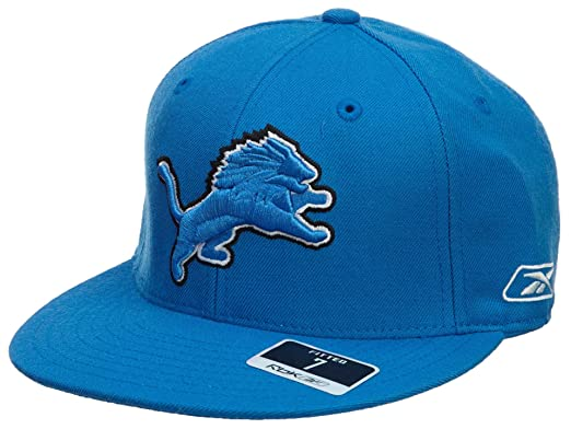 Amazon Com Reebok Detroit Lions Fitted Hat Mens Style