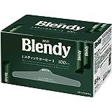 AGF ブレンディ スティック 100本 【インスタントコーヒー】 【個包装 スティックタイプ】 【大容量】