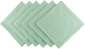 DII Cotton Seersucker Striped Napkin for Brunch, Weddings, Showers, Parties and Everyday Use, 20 x 20