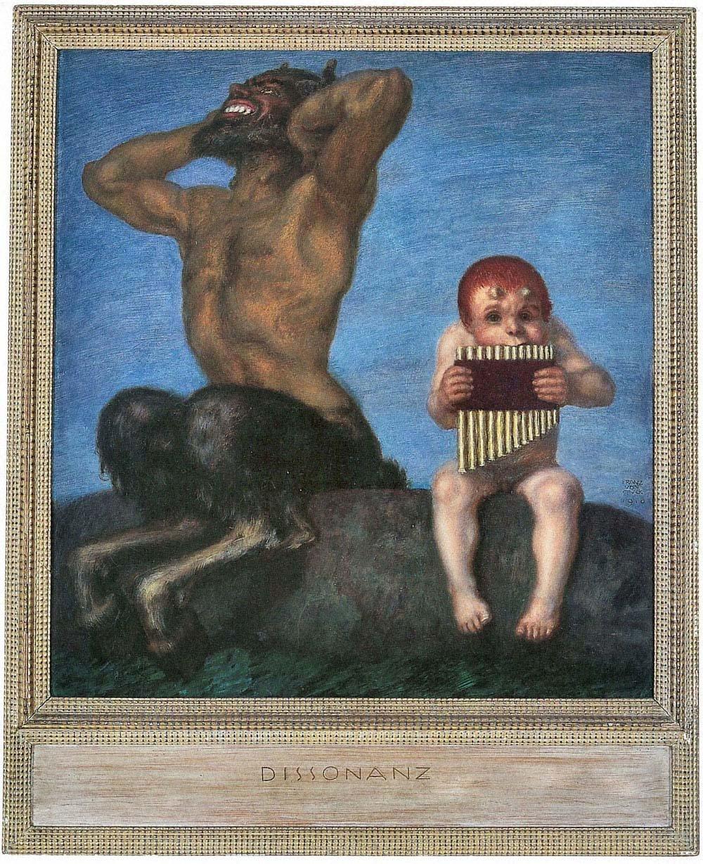 /dissonanz di Franz Von Stuck/ /A3/Poster Il Museo outlet/