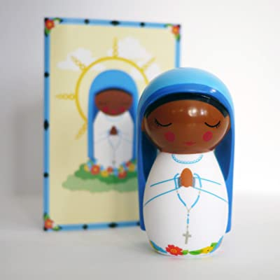 Shining Light Dolls Our Lady of Kibeho Collectible Vinyl Doll: Toys & Games