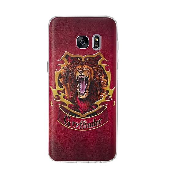 new product cd35a 64b3e Amazon.com: Galaxy S7 Edge Harry Potter Art Silicone Phone Case/Gel ...