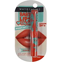Maybelline Baby Lips Bright Out Loud Lip Balm - Vivid Peach, 1.9g Pack