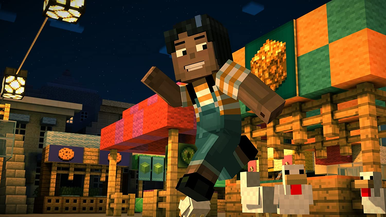 amazon com minecraft story mode u2013 a telltale games series
