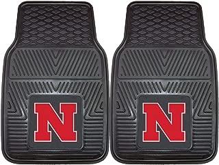 "product image for FANMATS - 8871 NCAA University of Nebraska Cornhuskers Vinyl Heavy Duty Car Mat,Regular,18""x27"""