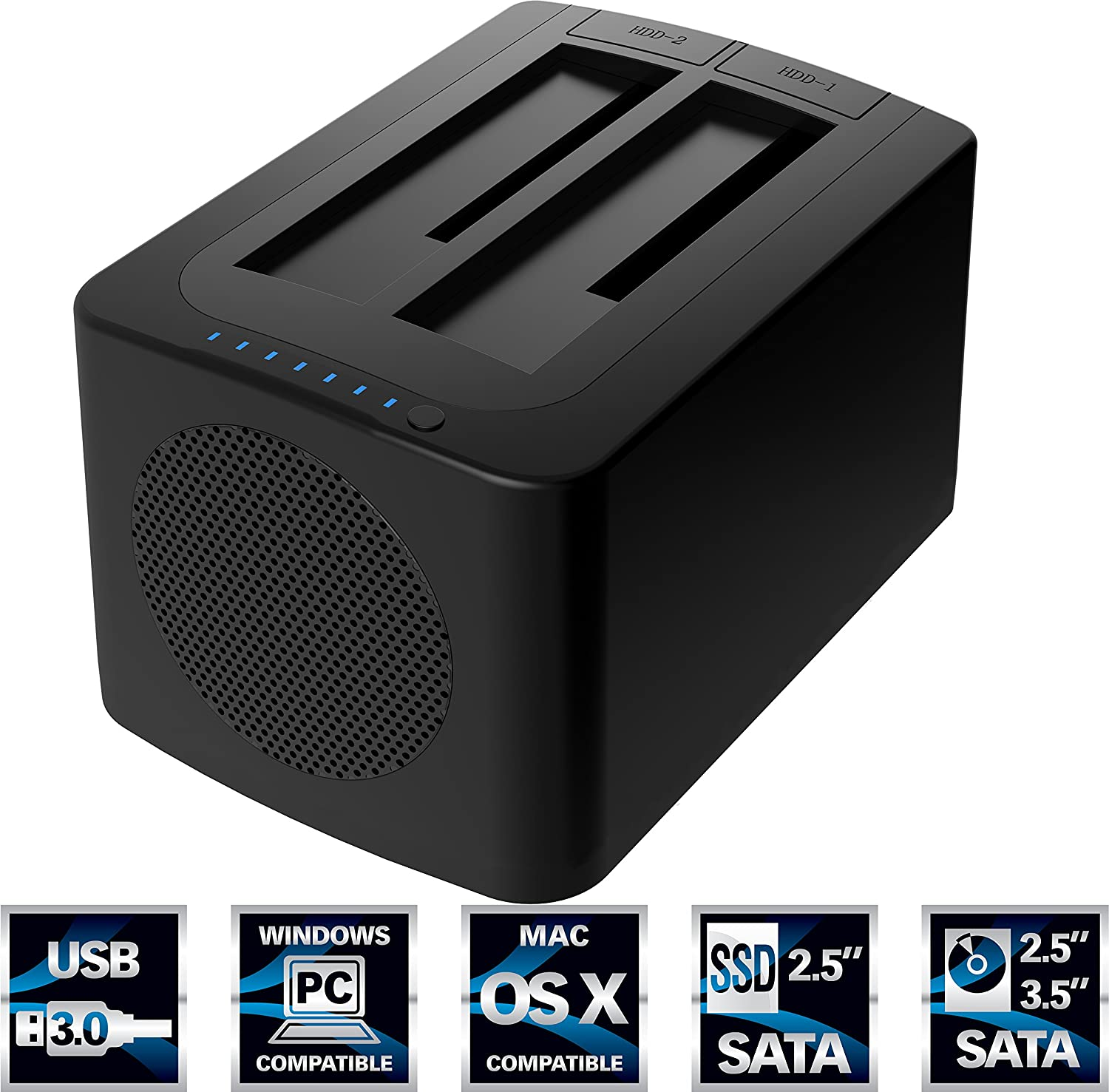 0 External Docking Station Tipos De Cancer Orico 6629us3 C Usb 30 To Sata Dual Bay Hdd Sabrent Hard Drive With Built In