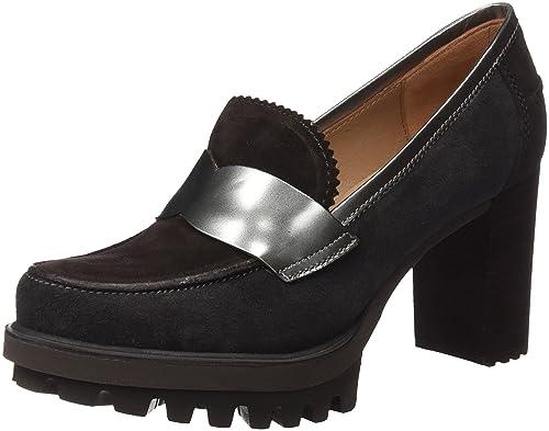 Pedro Miralles 29450, Mocasines para Mujer, Gris (Piombo), 38 EU: Amazon.es: Zapatos y complementos